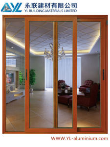 Precio De Fábrica De Puerta Corrediza De Aluminio Con Cristal