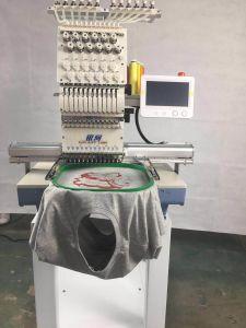 형제 소프트웨어 판매 2 헤드 같이 공업용 미싱기가 다만 모자 편평한 t-셔츠를 위한 Tajima 타입-2 헤드 자수 기계에 의하여 아닙니다 자수 중국 구두를 신긴다