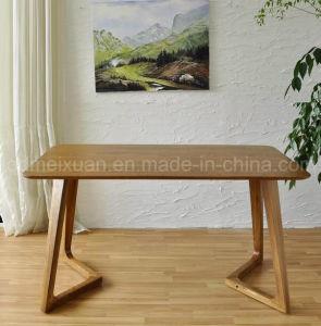 Твердый деревянный обеденный стол в гостиной мебели (M-X2857)