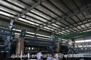 Telaio del getto dell'aria del jacquard della scintilla 340cm, macchinario di tessitura di Tetile