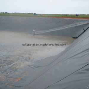 チャネルおよび運河のHDPEのGeomembraneのインストールマニュアル1.5mm厚くよいインストールと