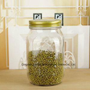 Vidrio Vintage-Style Atasco de almacenamiento de alimentos de la cocina tarros de conservas Mason