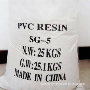 Plastic Sg5 van de Hars van pvc van de Prijs van de Fabriek van Grondstoffen voor de Pijp van pvc