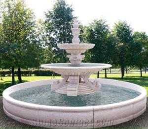 Fontein van de Steen van de Fontein van het Water van de Decoratie van het huis de Marmeren Natuurlijke
