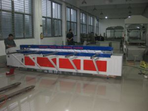 手動プラスチックシートのバット融接機械