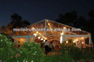 Groot pvc van de Gebeurtenis buiten de Transparante Tent van het Huwelijk van de Ceremonie van de Markttent van de Partij