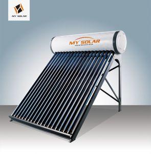 calentador de agua solar brillante