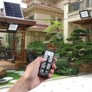屋外の芝生の機密保護の照明のための二重ヘッド太陽エネルギーLEDの洪水ライト