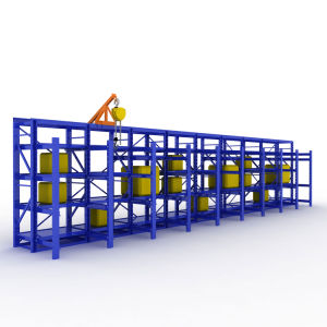 Grand Entrepôt de stockage de l'acier laminé Étagère en métal