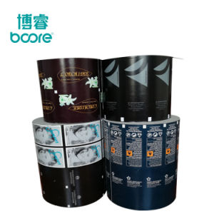 China fabricantes de papel de aluminio el paquete de papel para el 70% Alcohol isopropílico almohadilla Prep.