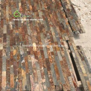 Usine Ledgestone Rusty de gros de l'Ardoise tuile, Panneau de pierre d'ardoise, de la pierre de placages