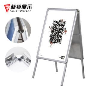 Aluminiumplakat-Standplatz-Verschluss-Plakat-Rahmen-Ausstellungsstand