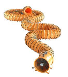 8 del ventilador portátil Flex la manguera del conducto de aire
