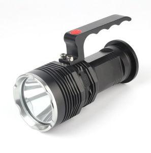 屋外10W高い発電強く軽い手ランプT6LEDのサーチライト