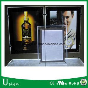 La publicidad display LED Slim Crystal Light Box