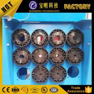 セリウムのホースフィッティングのひだ付け装置によって使用される油圧ホースひだが付く機械