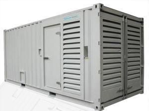 Uso hospitalar forte gerador diesel de potência, 750kVA 600kw tipo de contentores