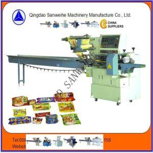 Swsf-450高速パンの自動包装機械