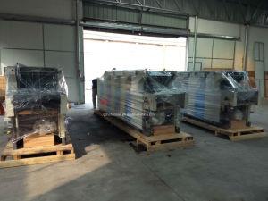 4つのカラー衛星非編まれた袋のオフセット印刷機械