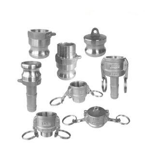 Connettore rapido rapido del montaggio di tubo flessibile dell'accoppiamento del tubo del Camlock di alluminio