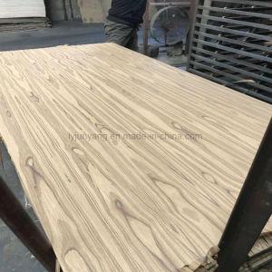 Surgieron de grano hermosa madera de teca de contrachapado de madera contrachapada Marina
