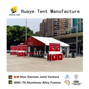 10X10m hohe Spitzen-Schutz-Zelt-Festzelt-Kabinendach-Zelt für Verkauf