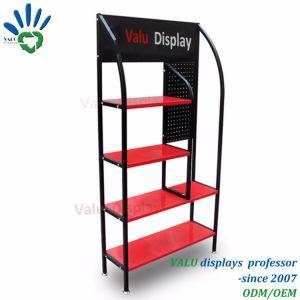 Plancher lubrifie permanent de présentoir Présentoir en métal, étagère de rack de stockage, l'étagère d'affichage
