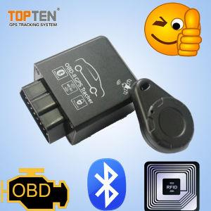Global RFID portátil GPS Tracker con conector OBD-LL, Plug-n-Play Tk228-EZ