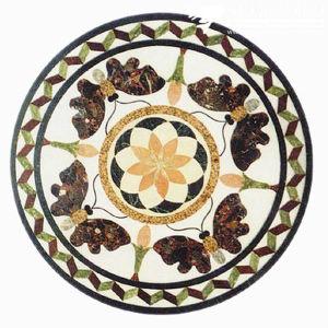 Floor Decorationのための大理石のFloor Stone Mosaic Medallion