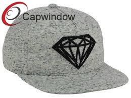 Tissu athlétique 5 panneau Snapback Hat avec broderie 3D
