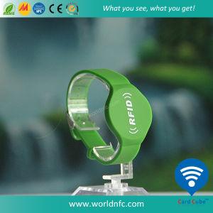 Wasserdichtes 13.56MHz RFID Ntag213 Silikon-Armband