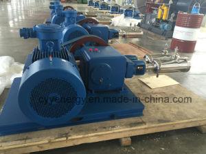 Cyyp 57 Servicio ininterrumpido gran caudal y de alta presión de oxígeno líquido de GNL de Argón Bomba de pistón de nitrógeno multiseriados