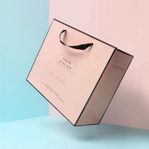La impresión de envases de vino ecológico vestido de la Actualidad Bolsa de papel