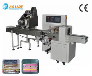 Los servomotores llena el envasado automático de OPP&PE lápices de sellado de material de película de la máquina de embalaje
