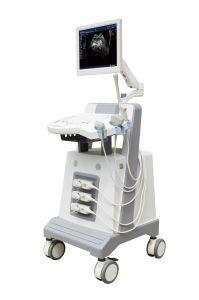 Máquina de Doppler ultra-som Cor Design Trolley Máquina do scanner