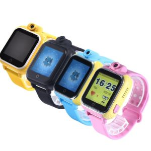 子供(D18)のための3G WiFiのタッチ画面GPSの追跡者の腕時計