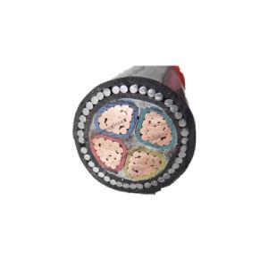 XLPE blindado de 4 núcleos aislados de cobre del cable de alimentación eléctrica subterránea