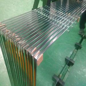 Table en verre 3-19mm ultra clair Verre trempé de serre de renforcer le verre trempé pour douche sauna de vitre de porte