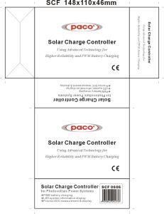 Sistema solare connettente di Scf 0808 solari del regolatore