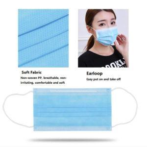 Certificação Ce 3 Descartáveis Bfe Ply99 Medical Máscara