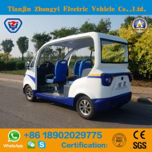 Mini 2 Lugares Patrulhamento Eléctrico Carro com marcação & SGS Certification