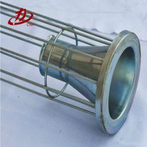 ベンチュリ管管が付いている産業カスタム円形のフラグのフィルター・バッグフレームのケージ