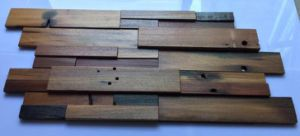 Hot Sale panneau de bois 3D Mosaïque carrelage mural