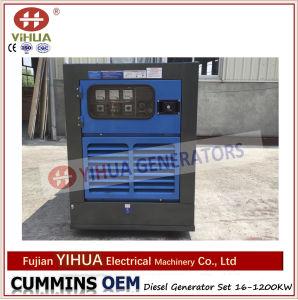L'alimentation portable électrique générateur diesel Cummins silencieux de l'auvent