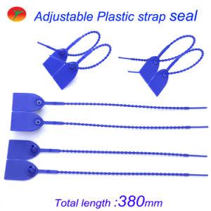 Selo de recipiente plástico inalterável das fortes medidas de segurança da tração
