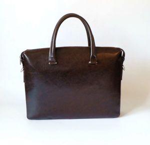 С другой стороны бизнеса моды ЭБУ подушек безопасности сумку ноутбук Split кожаный портфель