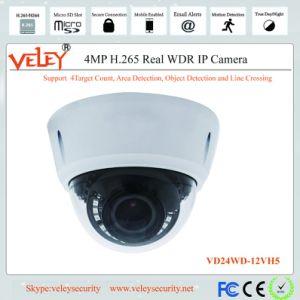 Zoom motorisé 4MP HD Vandalproof IR Surveillance Caméra Dôme IP