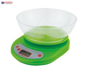 5kg de diète alimentaire des ménages de précision numérique de la nutrition de pesage Balance de cuisine
