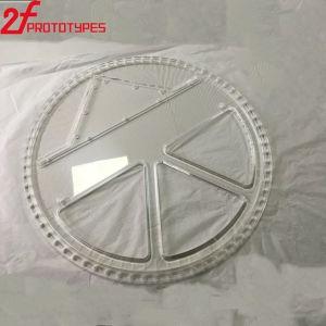 Alte parti di plastica Polished libere trasparenti di plastica di CNC dell'acrilico PMMA
