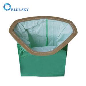 Groene Zak met Hoge Filtratie voor het Vacuüm van het Huishouden
